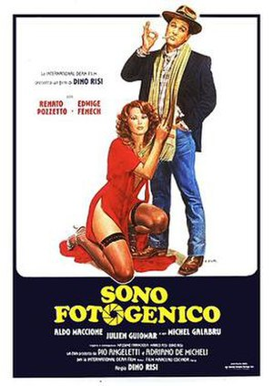 I'm Photogenic - Italian theatrical release poster by Enzo Sciotti