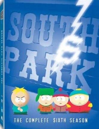 South Park (season 6) - DVD cover
