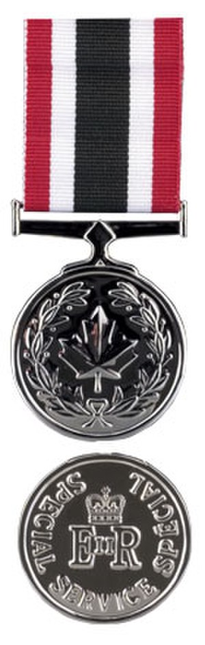 Special Service Medal (Canada) - Image: Special Service Medal