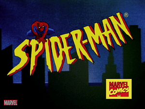 Spider-Man (1994 TV series) - Image: Spider Man (1994 TV series) title screen