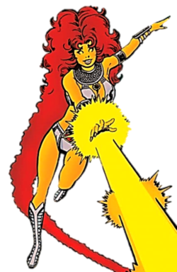 And starfire robin Dying Love