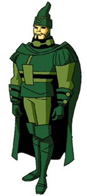 Steppenwolf (comics) - Steppenwolf as seen in Superman: The Animated Series.