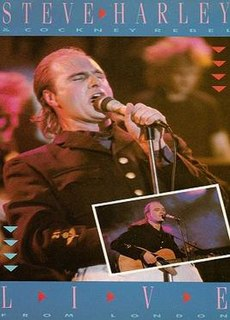 <i>Live from London</i> (Steve Harley &amp; Cockney Rebel video) 1985 video by Steve Harley & Cockney Rebel
