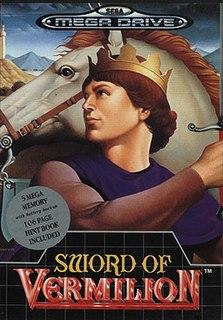 <i>Sword of Vermilion</i> 1989 video game