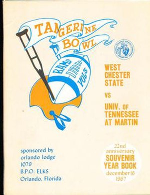 Citrus Bowl - Program cover for 1967 game