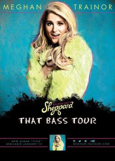 That Bass Tour concert tour by Meghan Trainor