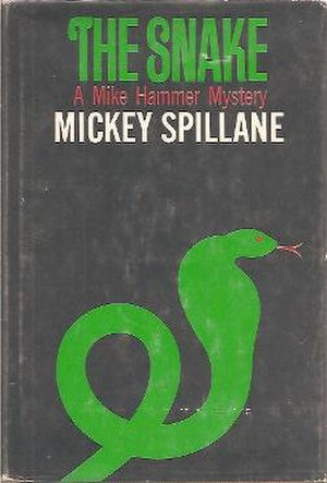 The Snake (novel) - First edition (publ. E.P. Dutton)