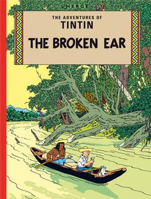 The Broken Ear - Cover of the English edition