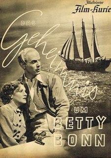 <i>The Mystery of Betty Bonn</i> 1938 film