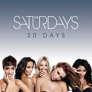30 Days (The Saturdays song) - Image: The Saturdays – 30 Days (Official Single Cover)
