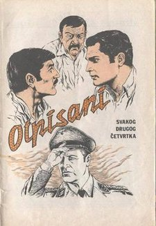 "The promotional poster for Serbian TV series ""Otpisani"".jpg"