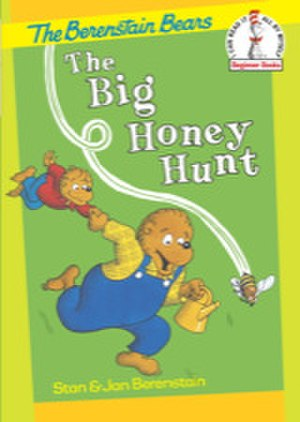 The Big Honey Hunt - The reissued cover, showing the updated character design of Papa Bear and Brother Bear