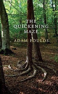 <i>The Quickening Maze</i> book by Adam Foulds