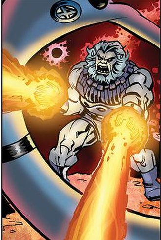 Blastaar - Blastaar   Art by Kieron Dwyer