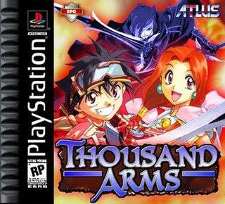 <i>Thousand Arms</i> 1998 video game
