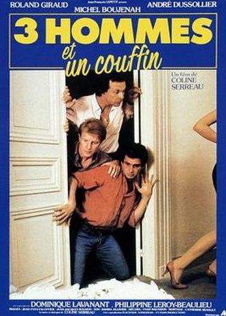 Three Men and a Cradle - Film poster