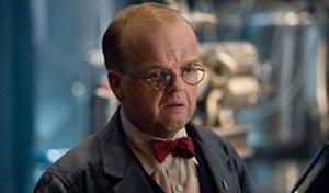 Arnim Zola - Toby Jones as Arnim Zola in the 2011 film Captain America: The First Avenger.