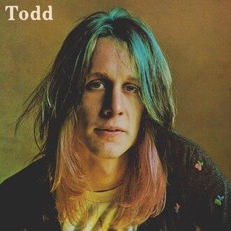 Todd (album) - Image: Todd 1974