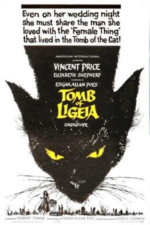The Tomb of Ligeia - Original theatrical poster