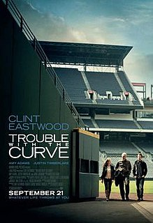 <i>Trouble with the Curve</i> 2012 film by Robert Lorenz