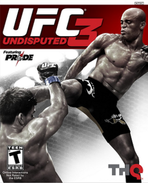 "UFC Undisputed 3 - Cover art featuring former UFC Middleweight Champion Anderson ""The Spider"" Silva, who won a fan vote to appear on the cover of the game."