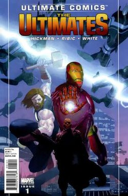 Variant Cover of the first issue of the series.