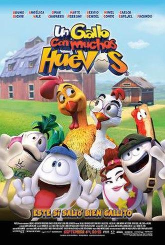 Un gallo con muchos huevos - Theatrical release poster