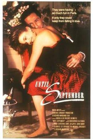 Until September - Movie poster