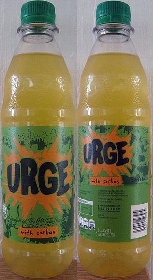 Urge (drink) - Image: Urge