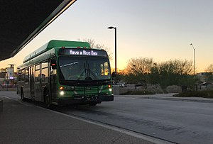 Valley Metro Bus - Image: Valley Metro Bus (C40LFR 6697)