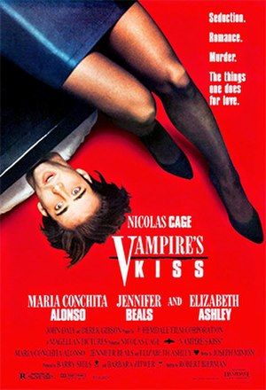 Vampire's Kiss - Theatrical release poster