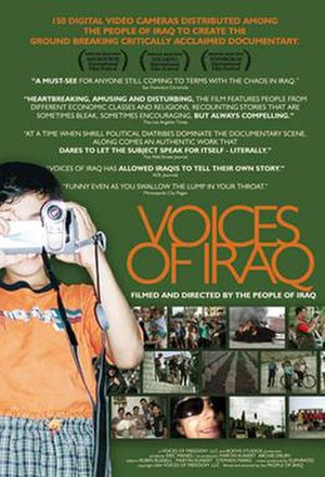 Voices of Iraq - Image: Voices Of Iraq Poster