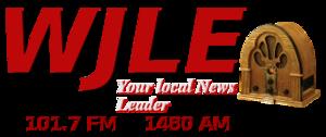WJLE-FM - Image: WJLE 101.7FM 1480AM logo