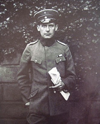 Walter Gropius - Gropius in his sergeant's uniform during World War I