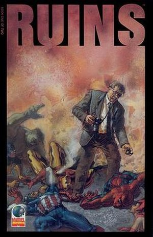 Ruins (comics) - Image: Warren Ellis Ruins 1 cover