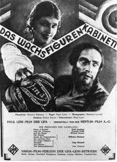 <i>Waxworks</i> (film) 1924 film by Paul Leni, Leo Birinski