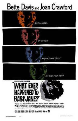 What Ever Happened to Baby Jane? (1962 film) - Theatrical release poster