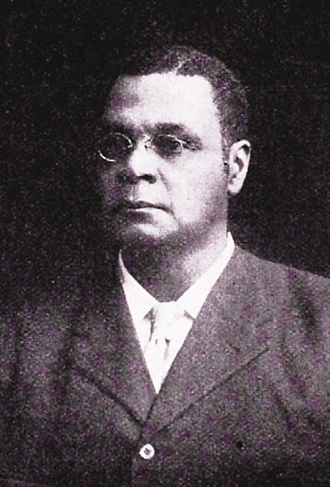 George Henry White - This portrait of George Henry White appeared in the NAACP monthly, The Crisis, shortly after his death.