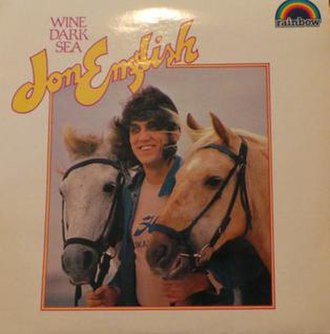 Wine Dark Sea (Jon English album) - Image: Wine Dark Sea by Jon English Rainbow rerelease