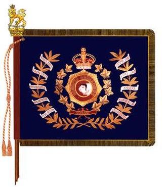 The Winnipeg Grenadiers - The regimental colour of the Winnipeg Grenadiers.