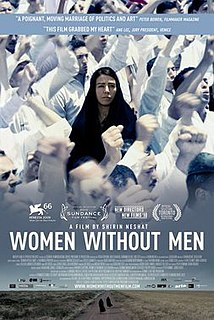 <i>Women Without Men</i> (2009 film) 2009 film by Shirin Neshat, Shoja Azari