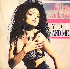You and Me (La Toya Jackson song) - Image: Youandmesingle