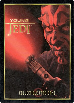 Young Jedi Collectible Card Game - Young Jedi red card back