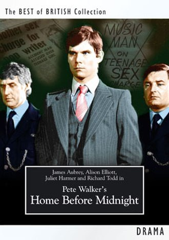 Home Before Midnight - UK DVD cover