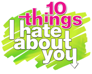 10 Things I Hate About You (TV series) - Image: 10 things logo