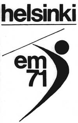 1971 European Athletics Championships - Image: 1971helsinki