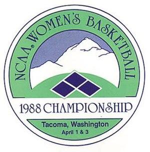 1988 NCAA Division I Women's Basketball Tournament - Image: 1988Womens Final Four Logo