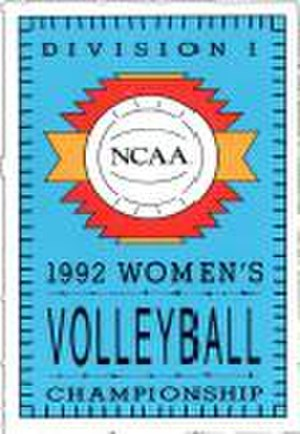 1992 NCAA Division I Women's Volleyball Tournament - 1992 NCAA Final Four logo