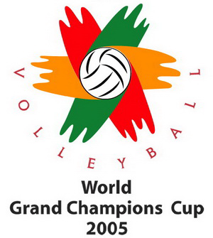 2005 FIVB Volleyball Men's World Grand Champions Cup - Image: 2005 FIVB World Grand Champions Cup logo