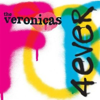 4ever (The Veronicas song) - Image: 4EVA Digital Cover
